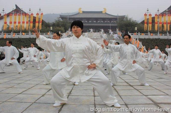 同一太极承办首届中国老子文化节表演